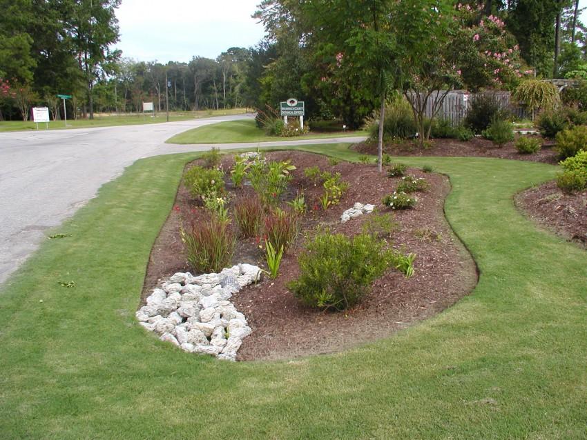 Brunswick County Government Center Rain Garden