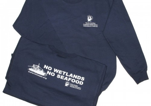 No Wetlands No Seafood Sweatshirt