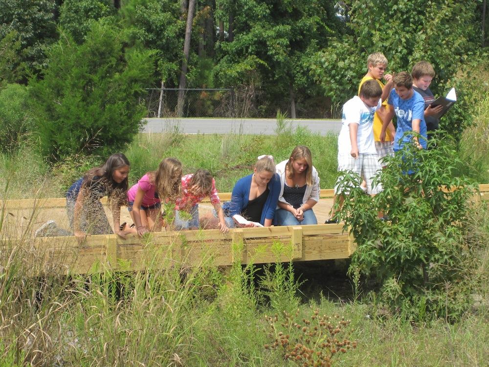 School Rain Gardens North Carolina Coastal Federation