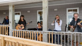 The Alligator River Strings Band provided beautiful music