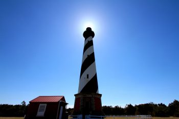 The Cape Hatteras lighthouse. Photo: Sam Bland