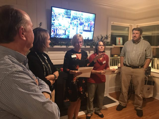 Members of our Wrightsville Beach staff thanked volunteers during the party Monday evening.