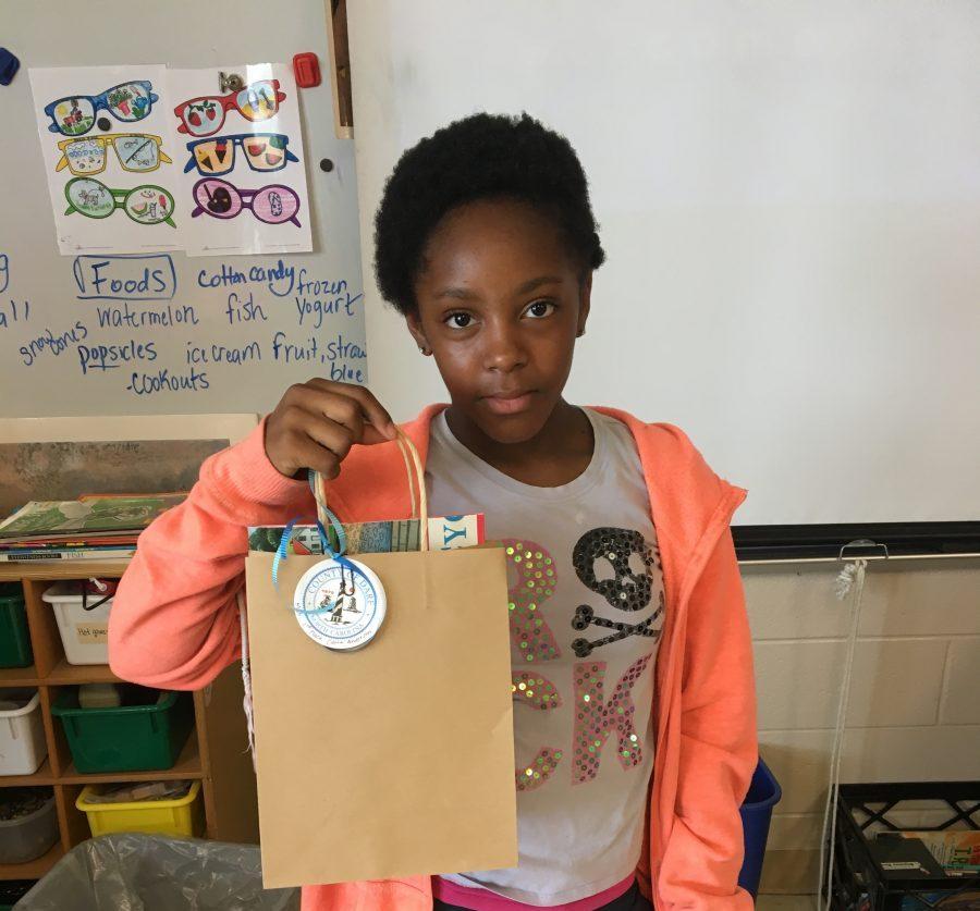 Manteo Elementary: Cierra Anderson (second-place)