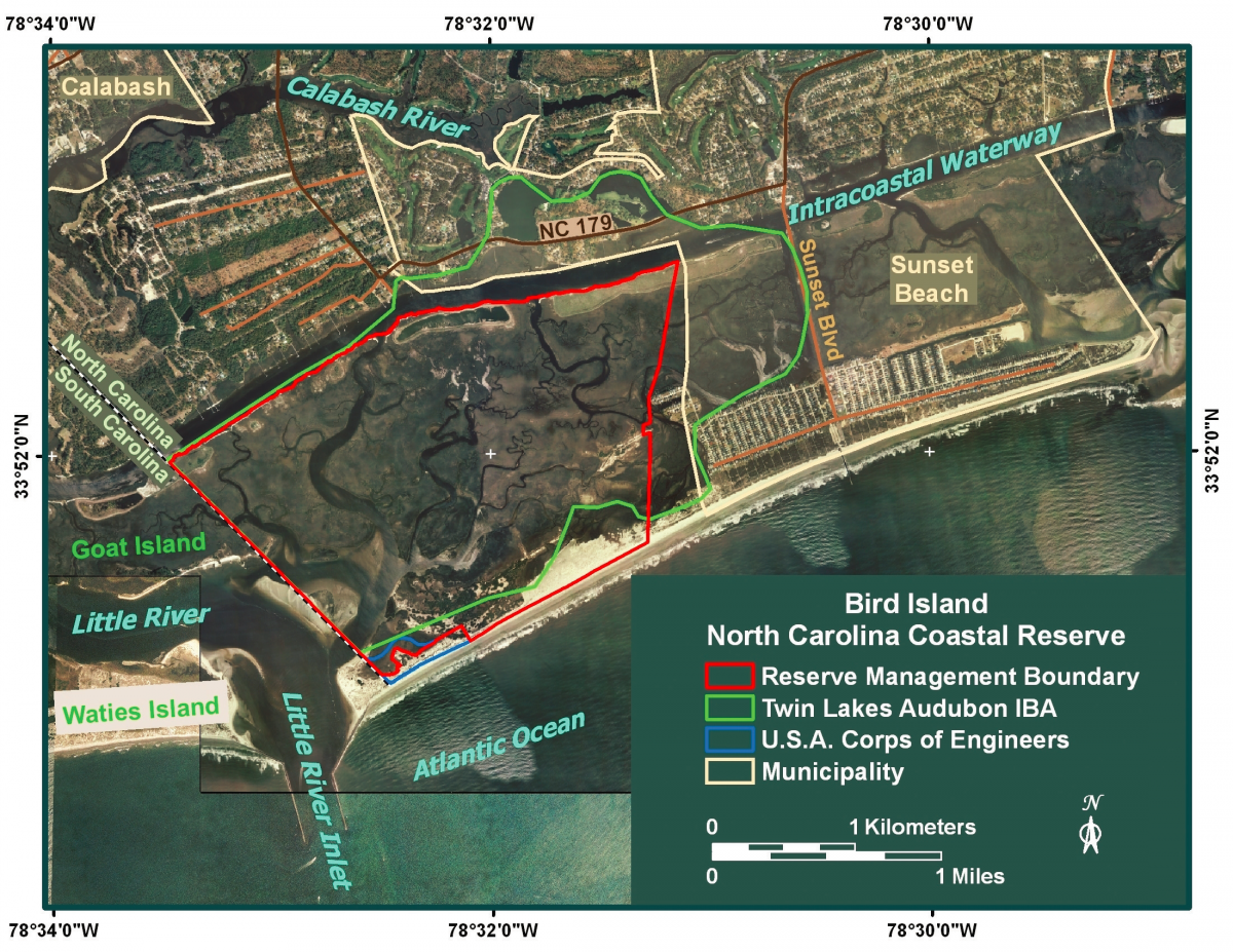 The Bird Island Coastal Reserve North Carolina Coastal Federation