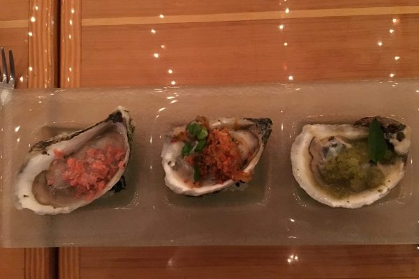 Oysters and Ice
