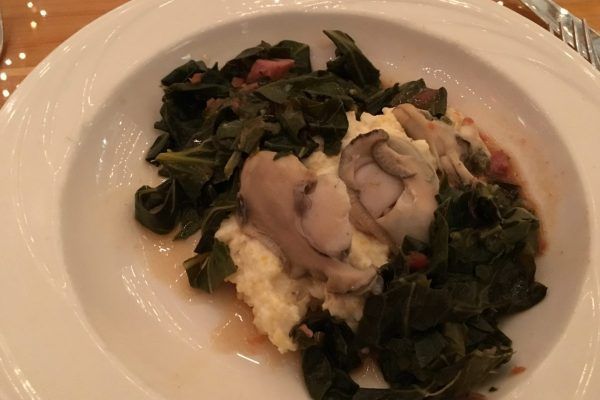 Oysters and Grits