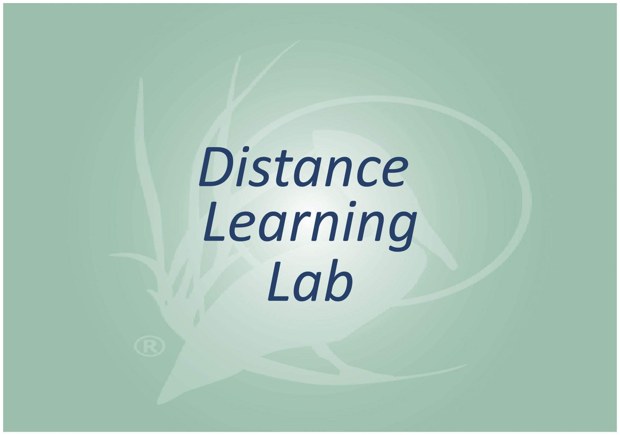 Distance Learning Lab