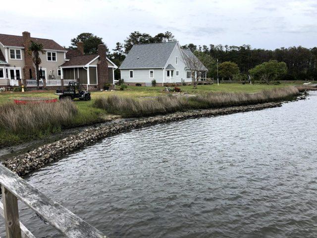 Oyster Bag Living Shoreline