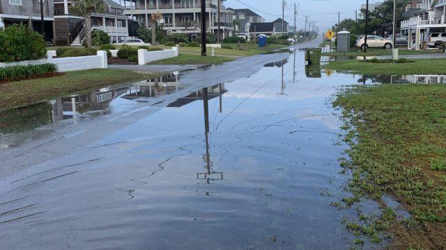 Flooding in Atlantic Beach